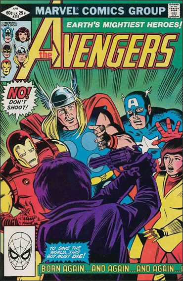 Avengers (1963) 218-A by Marvel