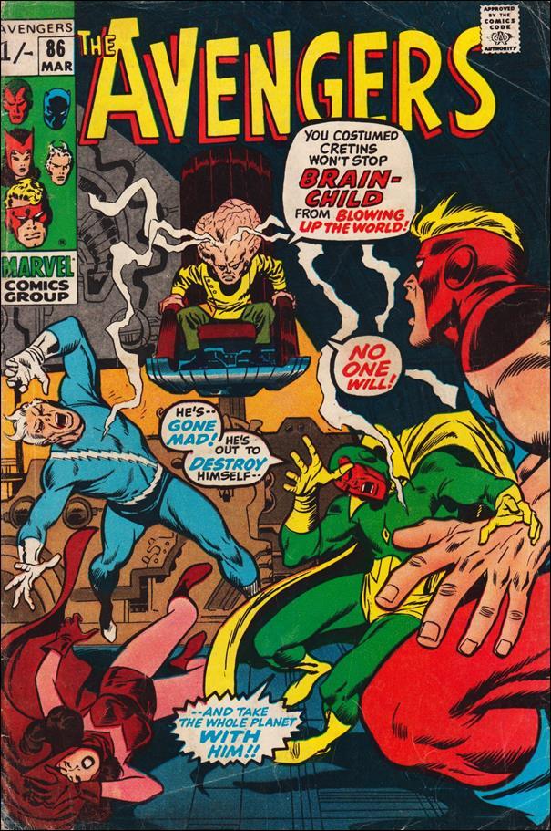 Avengers (1963) 86-B by Marvel