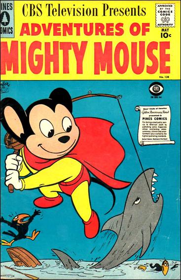 Adventures of Mighty Mouse (1956) 138-A by Pines