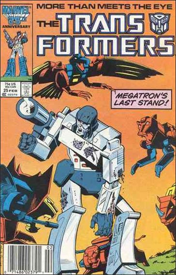 Transformers (1984) 25-A by Marvel