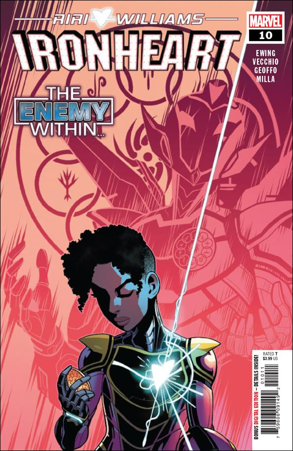 Ironheart 10-A by Marvel