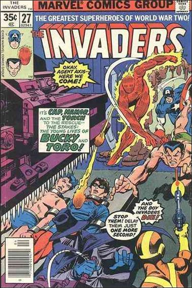 Invaders (1975) 27-A by Marvel