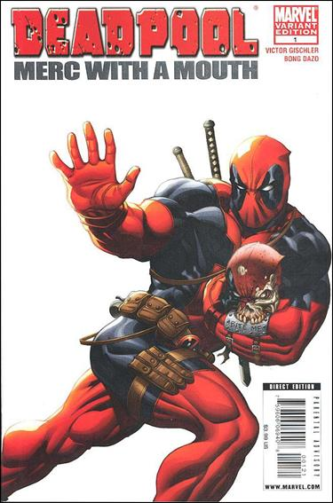 Deadpool: Merc with a Mouth 1-B by Marvel