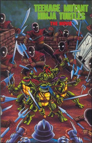 Teenage Mutant Ninja Turtles: The Movie 1-B by Archie