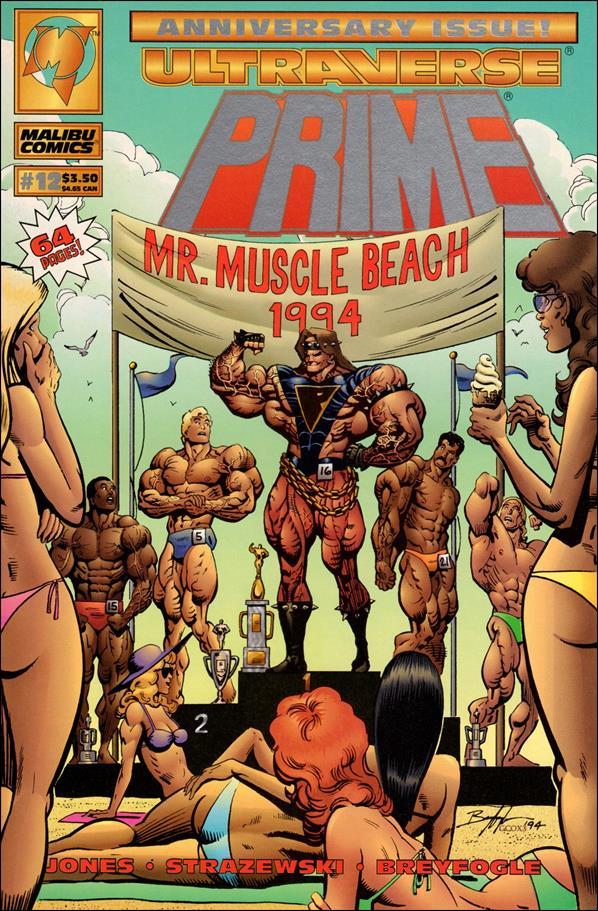 Prime (1993) 12-A by Malibu