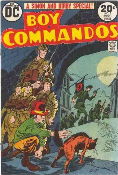 Boy Commandos (1973) 2-A by DC
