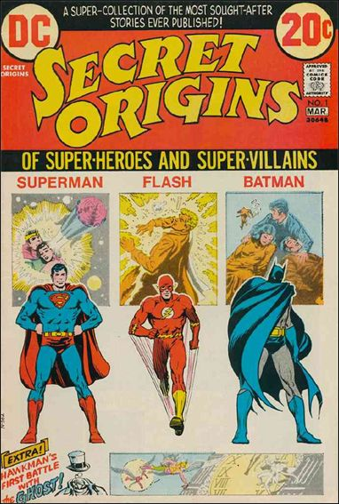 Secret Origins (1973) 1-A by DC