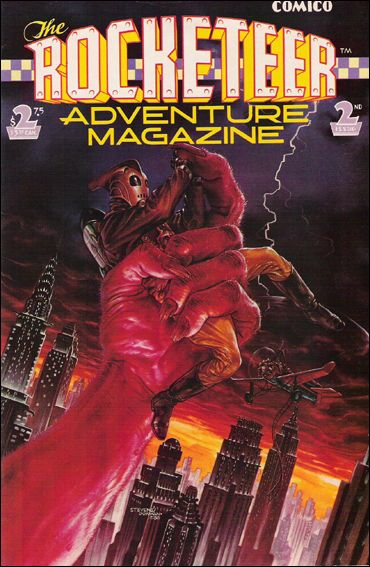 Rocketeer Adventure Magazine 2-A by Comico