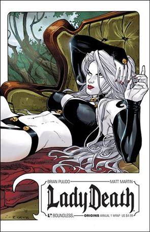 Lady Death Origins Annual 1-B