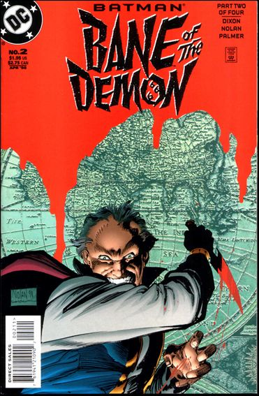 Batman: Bane of the Demon 2-A by DC