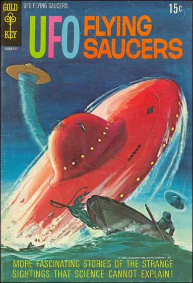 UFO Flying Saucers 2-A by Gold Key