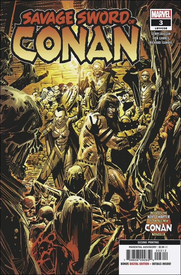 Savage Sword of Conan (2019) 3-C by Marvel