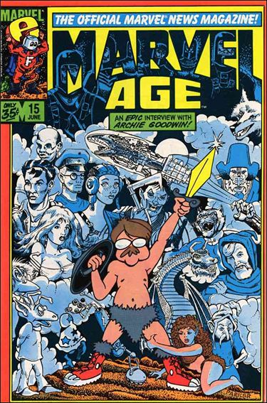 Marvel Age 15-A by Marvel