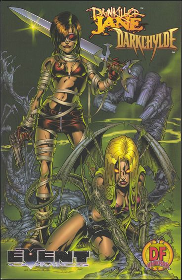 Painkiller Jane/Darkchylde 1-D by Event Comics