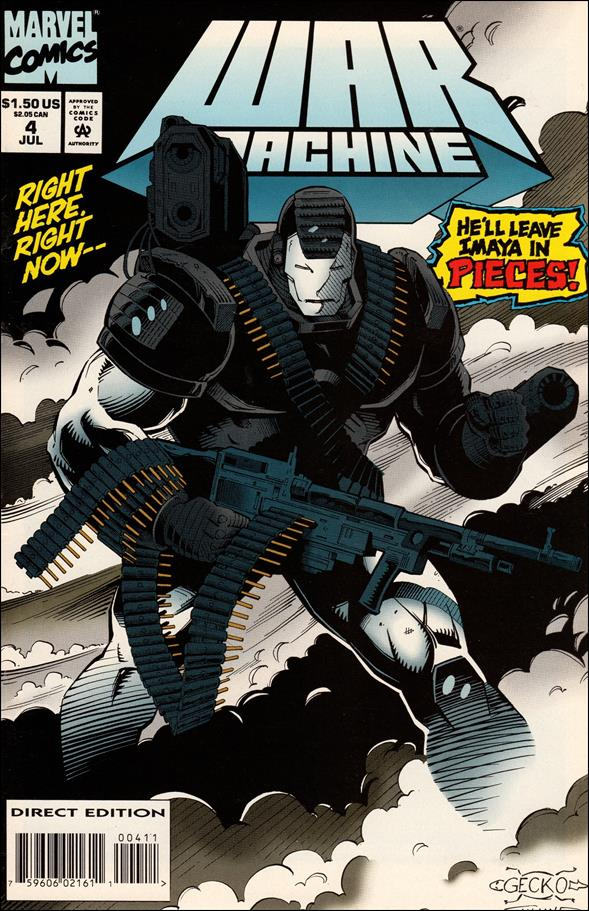 War Machine (1994) 4-A by Marvel
