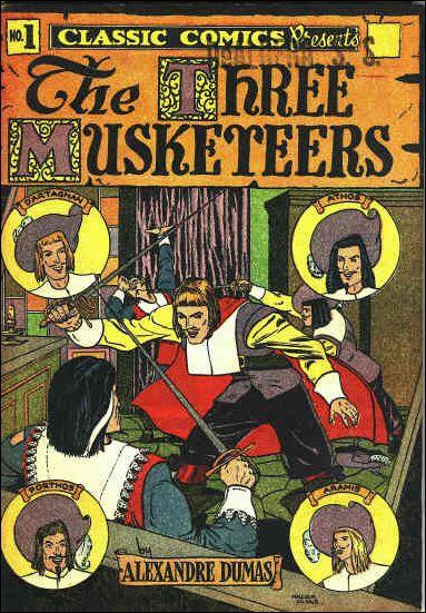 Classic Comics/Classics Illustrated 1-F by Gilberton