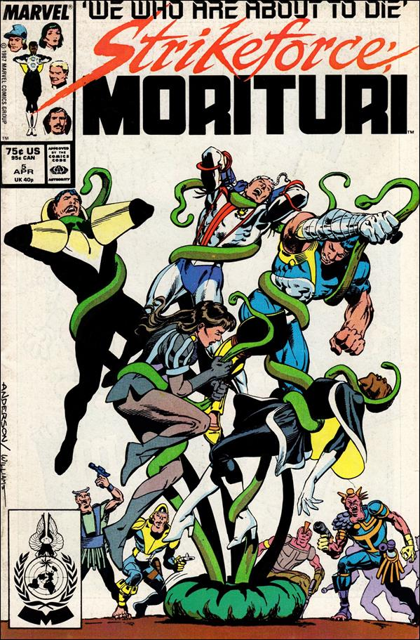 Strikeforce: Morituri 5-A by Marvel