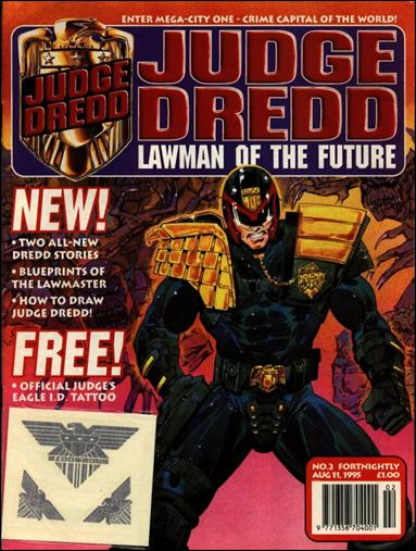 Judge Dredd - Lawman of the Future 2-A by Fleetway