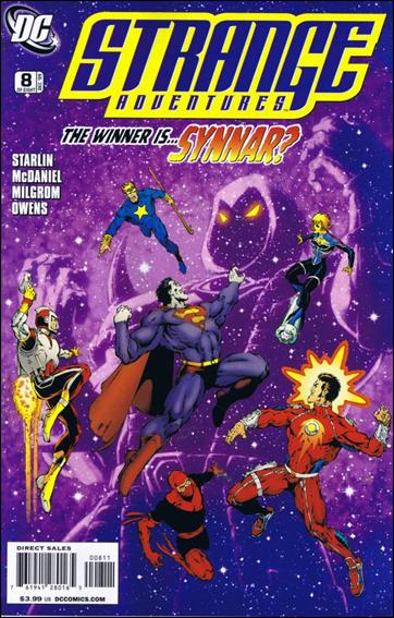 Strange Adventures (2009) 8-A by DC