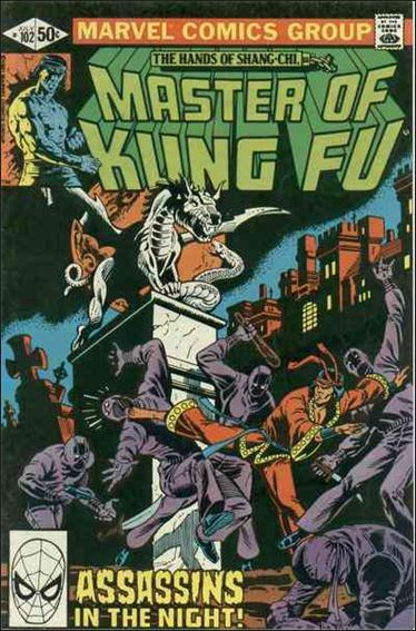 Master of Kung Fu 102-A by Marvel
