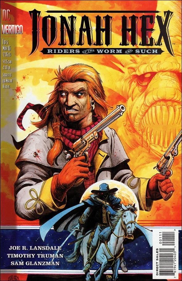 Jonah Hex: Riders of the Worm and Such 1-A by Vertigo