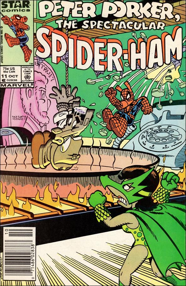 Peter Porker, The Spectacular Spider-Ham 11-A by Star