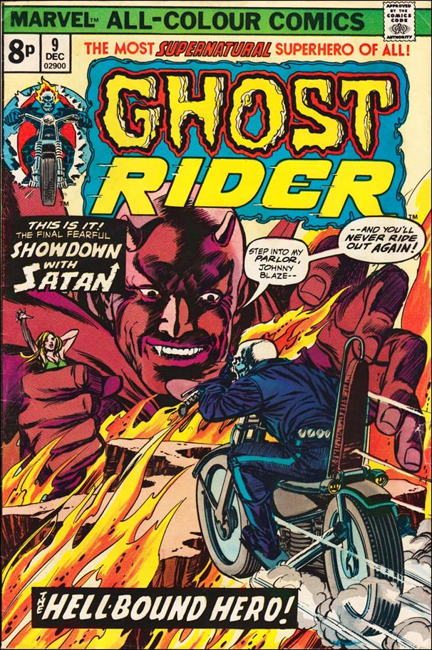 Ghost Rider (1973) 9-B by Marvel