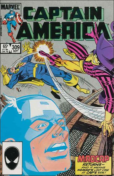 Captain America (1968) 309-A by Marvel