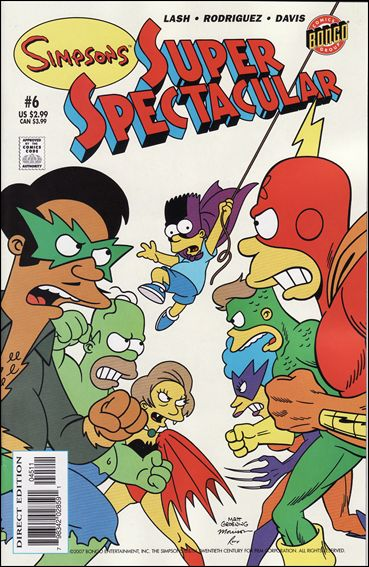 Bongo Comics Presents Simpsons Super Spectacular 6-A by Bongo