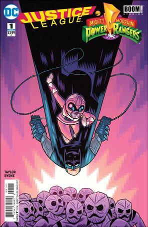 Justice League/Power Rangers 1-B