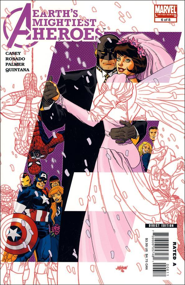 Avengers: Earth's Mightiest Heroes II 6-A by Marvel