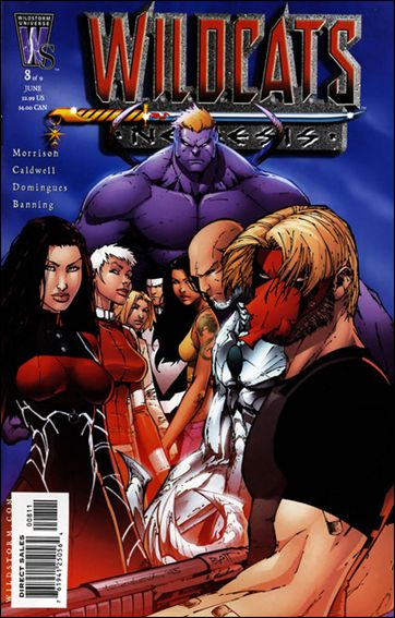 Wildcats: Nemesis 8-A by WildStorm