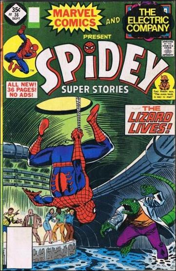 Spidey Super Stories 36-B by Marvel