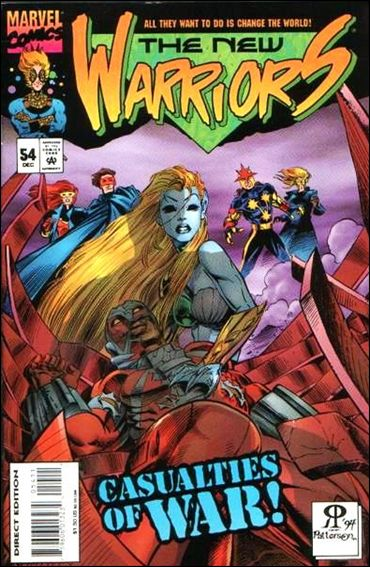 New Warriors (1990) 54-A by Marvel