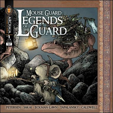 Mouse Guard: Legends of the Guard (2013) 1-A by Archaia