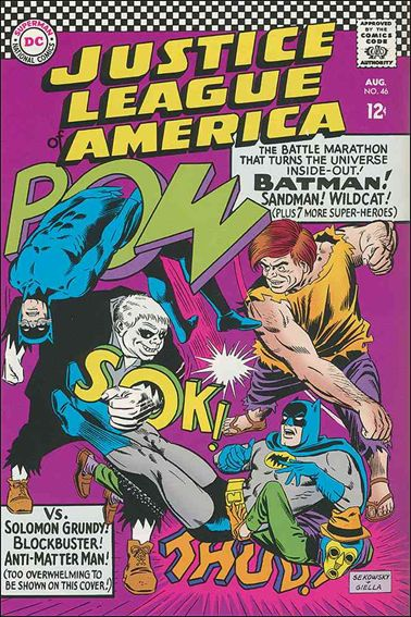 Justice League of America (1960) 46-A by DC