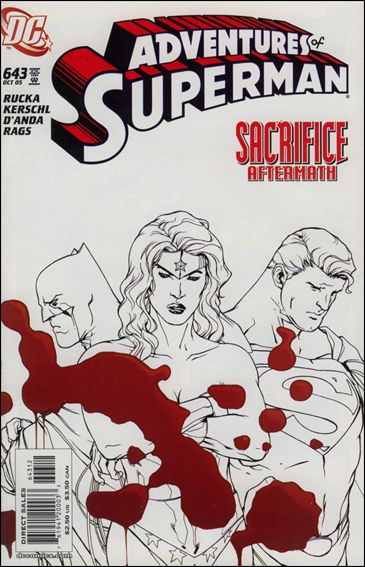 Adventures of Superman (1987) 643-B by DC