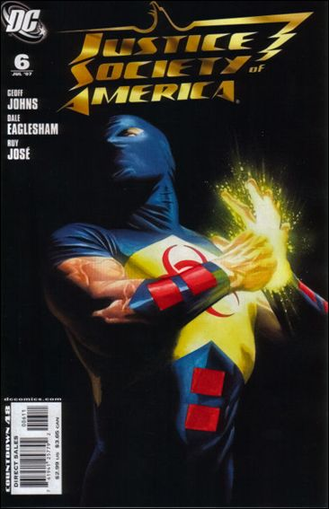 Justice Society of America (2007) 6-A by DC
