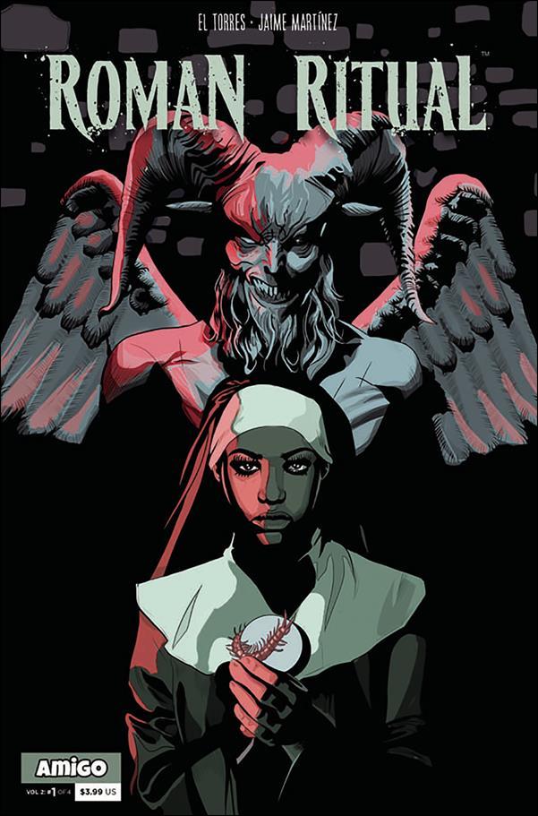 Roman Ritual (2019) 1-A by Amigo Comics