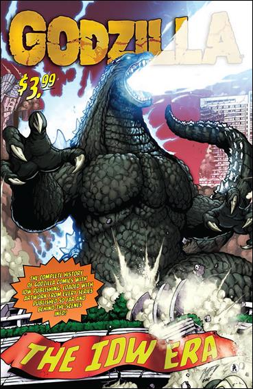 Godzilla: The IDW Era nn-A by IDW
