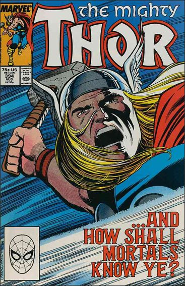 Thor (1966) 394-A by Marvel