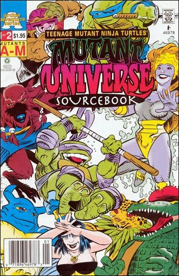 TMNT Mutant Universe Sourcebook 1-A by Archie