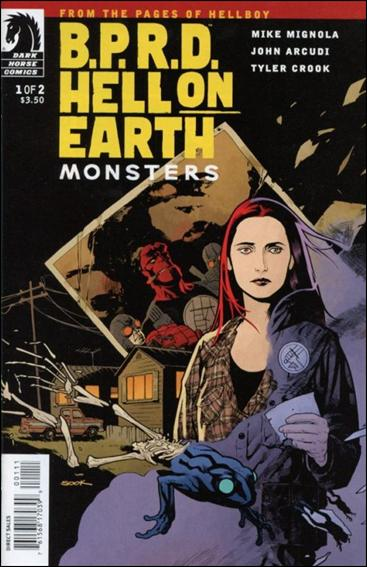 B.P.R.D. Hell on Earth: Monsters 1-A by Dark Horse