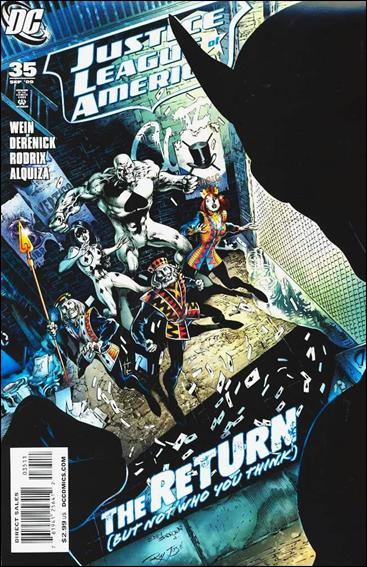 Justice League of America (2006) 35-A by DC