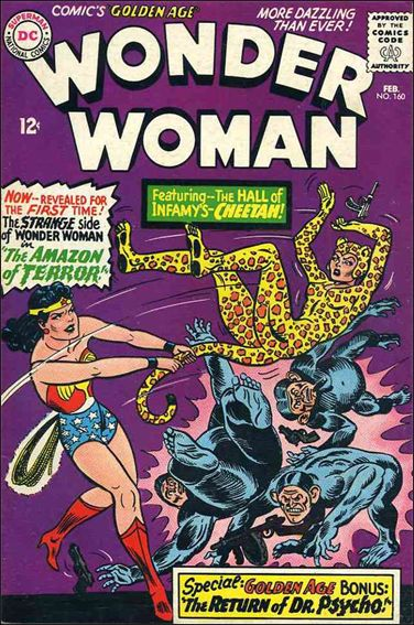 Wonder Woman (1942) 160-A by DC