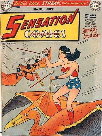 Sensation Comics (1942) 91-A by DC