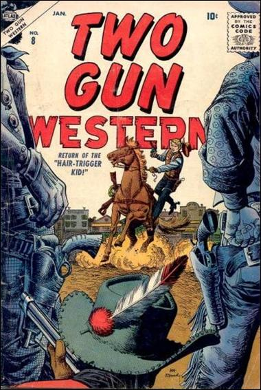 Two-Gun Western 8-A by Atlas