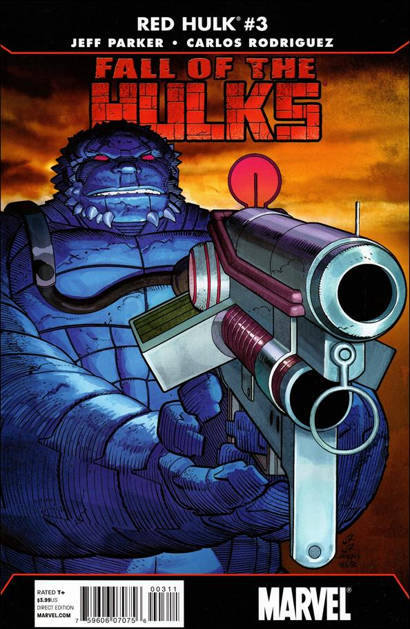 Fall of the Hulks: Red Hulk 3-A by Marvel