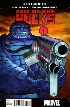 Fall of the Hulks: Red Hulk 3-A