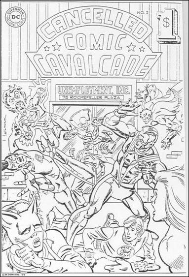 Cancelled Comic Cavalcade 2-A by DC